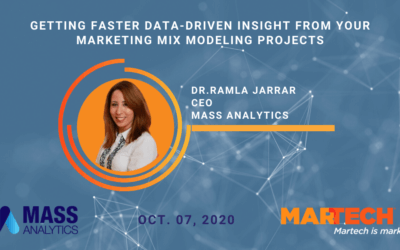 MarTech Conference: How to Get Faster Data-Driven Insights fromMarketing Mix Modeling Projects